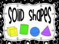 Geometry solid shapes