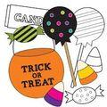 Halloweentrick or treat candy