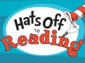 Dr seuss hats off to reading