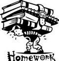 Homework with boy