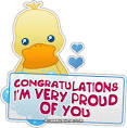 Congratulations i'm very proud of you