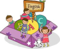 English sign with children