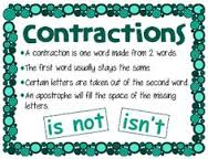 Contraction definition and example