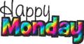Monday happy rainbow