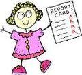 Report card girl