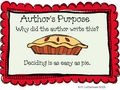 Author's purpose is as easy as