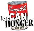 Food drive let's can hunger