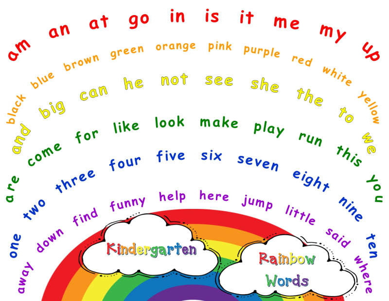 RainbowWordPicture