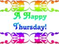 Thursday a happy
