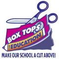 Box tops with scissors
