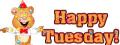 Tuesday happy hamster