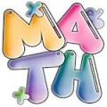 Math bubble letters
