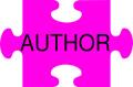 Author puzzle piece
