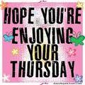 Thursday enjoy
