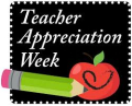 Teacher appreciation week sign