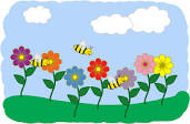 Flowers and bees