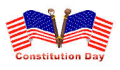 Constitution day flags