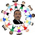 MLK with children
