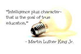 Mlk education quote