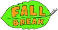 Fall break leaf green