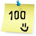 100 .