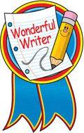 Writer wonderful