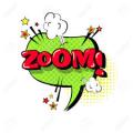 Zoom speech bubble