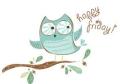 Friday happy owl