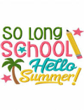 School's out summer is here